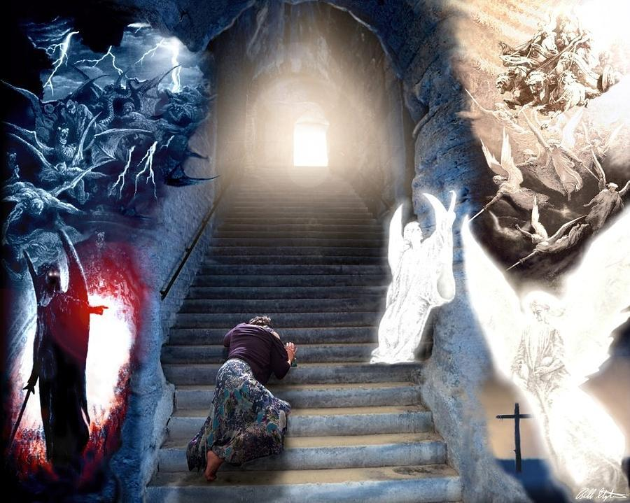 The Law of Spiritual Approach ~ Stairway to the Soul & Inner Revelation